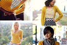 sweater: mustard