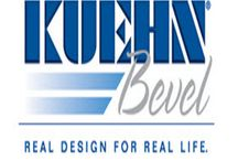 Kuehn Bevel / Kuehn Bevel is recognized as America's leading manufacturer of decorative bevel edge molding and the source for high-quality decorative edge products in laminate, solid surface and wood. For more than 20 years, we have been committed to on-time delivery, while offering the largest variety of colors, custom combinations and product styles as preferred by the world's most discerning customers.