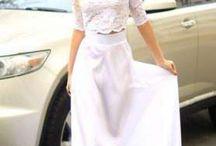 длиные платья