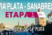 VÍA DE LA PLATA - SANABRÉS / Etapas del Camino de Santiago por la Vía de la Plata enlazando con el Camino Sanabrés hasta Santiago de Compostela