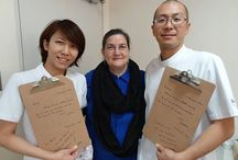 NIDCAP Global  Professionals / Dr. gretchen Lawhon is proud to introduce Japan's two newest NIDCAP Professionals, Maiko Ishimoto, RN and Tomohisa Fujimoto, PT, who earned their certification on December 8, 2014 at Red Cross Society Hospital in Himeji, Japan
