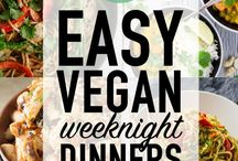 Vegan Food / Recipe ideas, meals, and vegan food ideas and inspiration. From quick and easy week night meals to snacks - all healthy and vegan