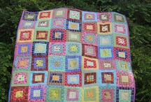 Cot quilt / 2.5 inch squares