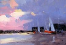 paisajes de pintura / by Oliva De La Fuente Gallego