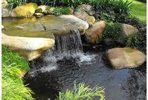 vízesés a kertedben