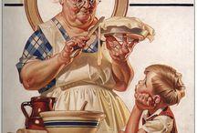 J.C.Leyendecker - Norman rockwell