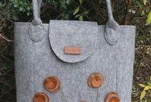 felt bag / felt bag