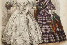 Suknie 1856-1859