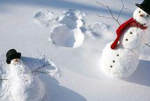 Lage av snø