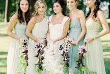 Green Wedding Colour Theme / Wedding Colour Inspiration with Green Tones and Hues