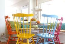 Cadeiras, poltronas e Sofás...