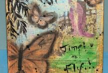 Mixed Media Art / Mixed Media Art, Collage, Paint, and various other mediums