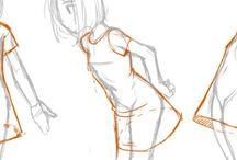 Рисование одежда
