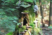 FAIRY DWELINGS AND LANDSCAPE