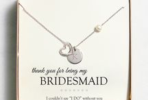 Bridesmaid and Wedding Party Gifts