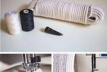 šití z provazu