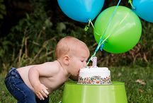 Colton's First Birthday Ideas / by Kasey Shae Tambellini