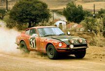 Datsun rally cars