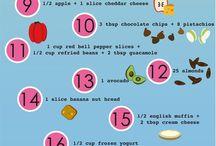 Low fat snacks