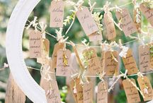 Escort card per matrimonio
