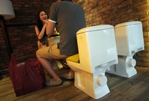 Ristorante a tema....toilette / A Shangai l'ultima moda in fatto di ristoranti sono quelli a tema, orientati negli arredi a ricordare determinati luoghi, situazioni e fantasie. La classe media non è mai stata così ricca e la Cina insegue le sue voglie e stravaganze con locali così, arredati come un bagno pubblico d'alta classe.