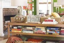 Organização da Sala / Tudo o que podemos fazer para manter a sala sempre arrumada.