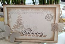 stempel postcard by stampin up