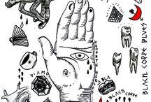 ilustration style tattoo