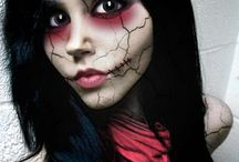 maquillaje terror