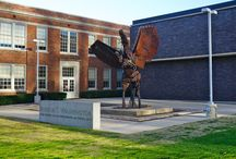 Booker T. Washington High School for the Performing and Visual Arts / Booker T. Washington High School was the first African-American high school in Dallas. In 1976, the school re-opened as a magnet high school to educate gifted artists with both the potential and the aspiration for careers in the arts. The school is nationally acclaimed as a prototype for magnet schools throughout the country. / by Dallas Arts District