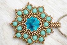 gioielli con perline: pendenti
