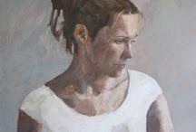 Søren Amsnes / Paintings