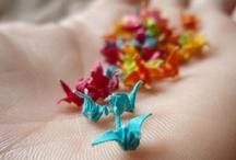 Origami Cranes / by Marina Giller *Agua Marina Blog*