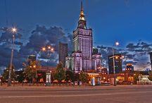 Warszawa / Warsaw / Warschau / Warsovia / The Capitol of Poland