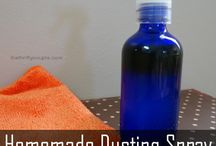 DIY Cleaners / Homemade/natural cleaners that will help eliminate the use of chemicals around the home / by Vera