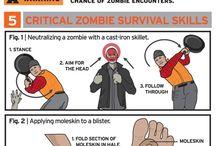 Apocalypse and zombie stuff