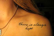 tattoos!! / by Dana Lassenba