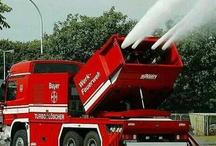 carros de bomberos