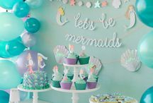 Phoenix's Mermaids party