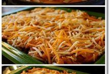 Cheesy enchilada pasta
