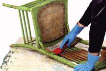 stripping furniture