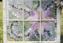 window frame / mosaic