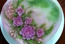 3d flower jelly art