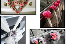 Wedding cars decoration