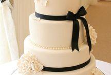 Bolos de casamentos e aniversários