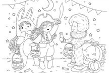 Bamboletta Colouring Pages