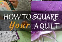 quilting- Construction