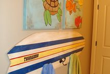Surf theme bedrooms