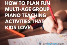 Group lessons ideas
