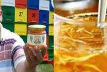 zázvor a med